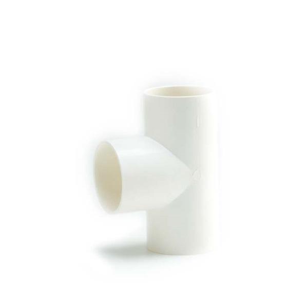 ข้อต่อสามทาง เอสซีจี พีวีซี ระบบร้อยสายไฟ สีขาว (มาตรฐาน BS)