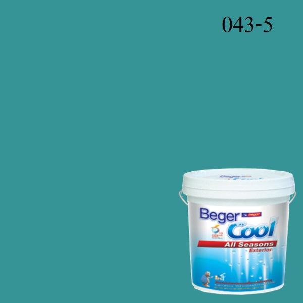 สีน้ำอะครีลิกภายนอก 043-5 Beger Cool All Seasons Escape the Everyday