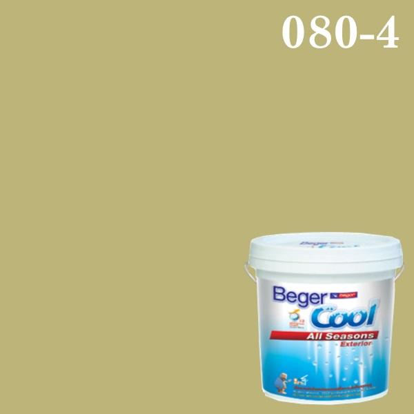 สีน้ำอะครีลิกภายนอก SCP 080-4 Beger Cool All Seasons Australian Adventure