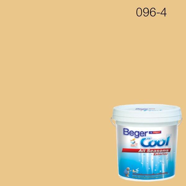 สีน้ำอะครีลิกภายนอก 096-4 SC Beger Cool All Seasons SCPButtered Toast