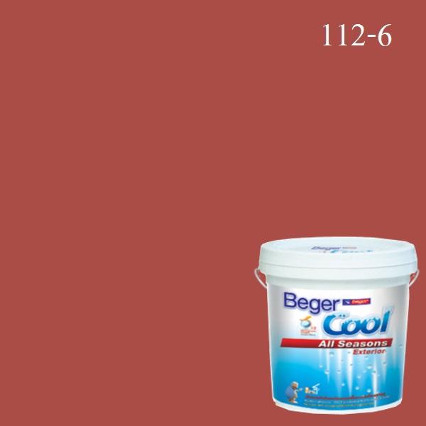 Beger Cool All Seasons สีน้ำอะครีลิก ภายนอก 112-6