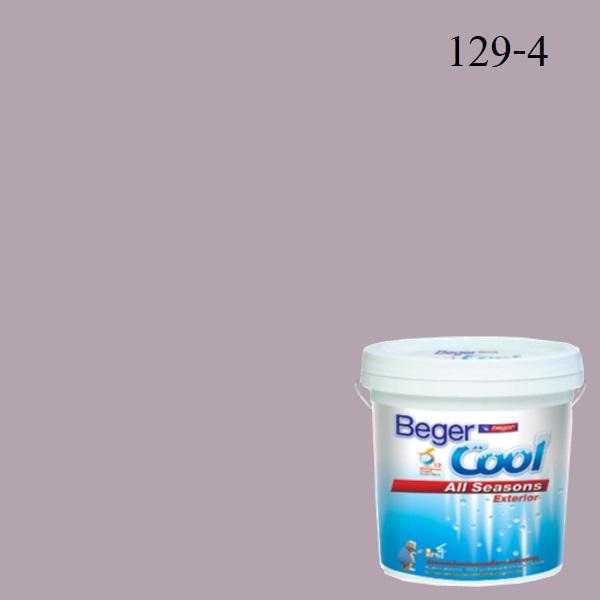 สีน้ำอะครีลิกภายนอก SCP 129-4 Beger Cool All Seasons Lilac Bush