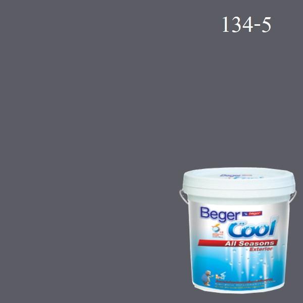 สีน้ำอะครีลิกภายนอก 134-5 Beger Cool All Seasons Mason Grey