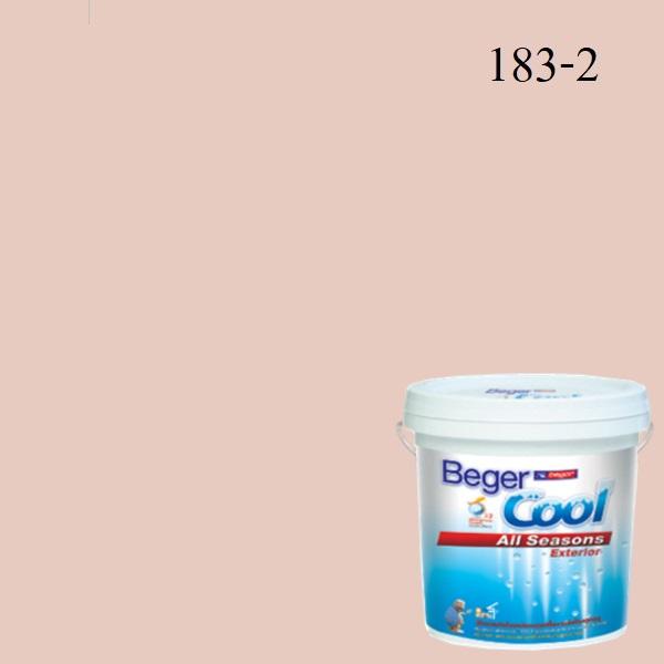 สีน้ำอะครีลิกภายนอก 183-2 Beger Cool All Seasons Dewey Rose