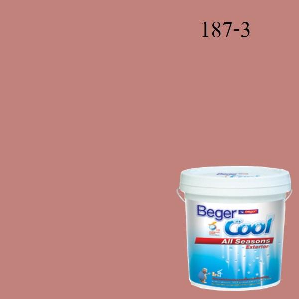 สีน้ำอะครีลิกภายนอก SCP 187-3 Beger Cool All Seasons Marquis