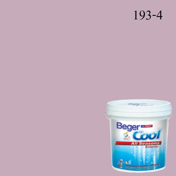 สีน้ำอะครีลิกภายนอก 193-4 Beger Cool All Seasons Violet Harmony