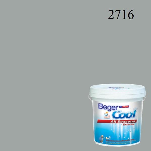 สีน้ำอะครีลิกภายนอก 2716 Beger Cool All Seasons Platinum