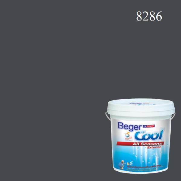 สีน้ำอะครีลิกภายนอก 8286 U Beger Cool All Seasons Exterior Charcoal Shadow