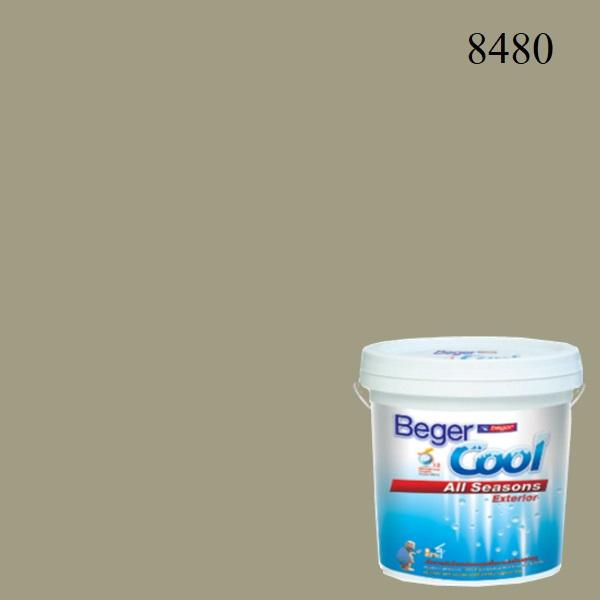 สีน้ำอะครีลิกภายนอก 8480 Beger Cool All Seasons SSR