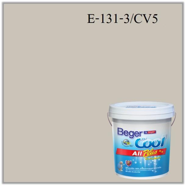 สีน้ำอะครีลิกภายนอก E131-3 CV5 PJ Beger Cool All Plus Foggy Coast