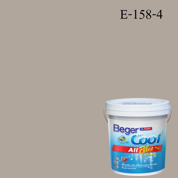 สีน้ำอะครีลิกภายนอก E158-4 Beger Cool All Plus Summer Town