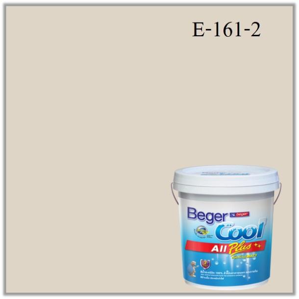 สีน้ำอะครีลิกภายนอก E-161-2 Beger Cool All Plus Aged Lace