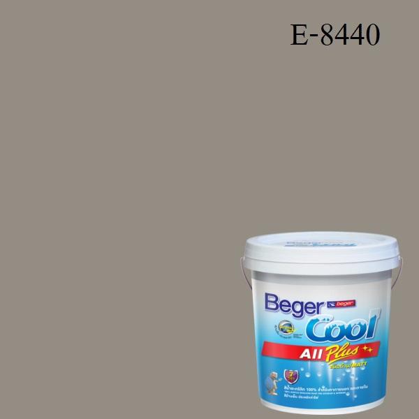 สีน้ำอะครีลิกภายนอก E-8440 Beger Cool All Plus Granite Cliff