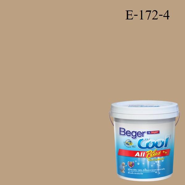 สีน้ำอะครีลิกภายนอก E172-4 Beger Cool All Plus Bag of Gold