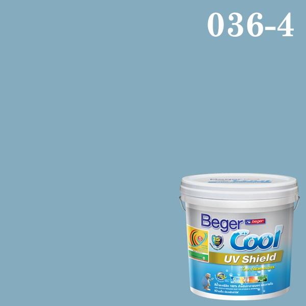 Beger Cool UV Shield #036-4 Romantic Blue