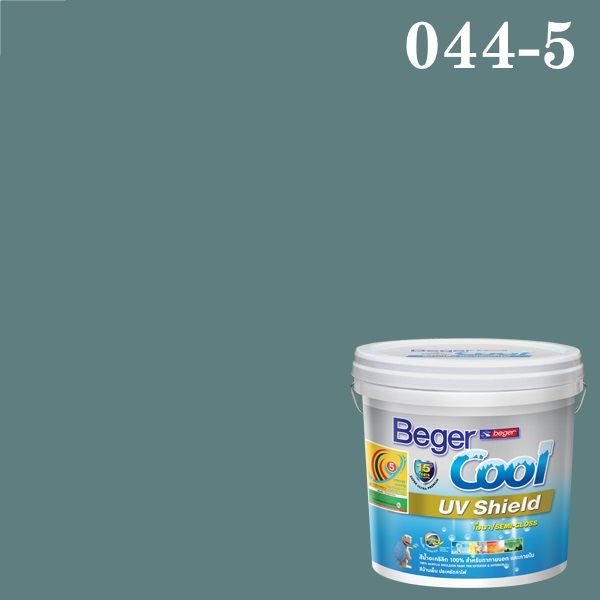 Beger Cool UV Shield 044-5/A Dusty Teal Haze