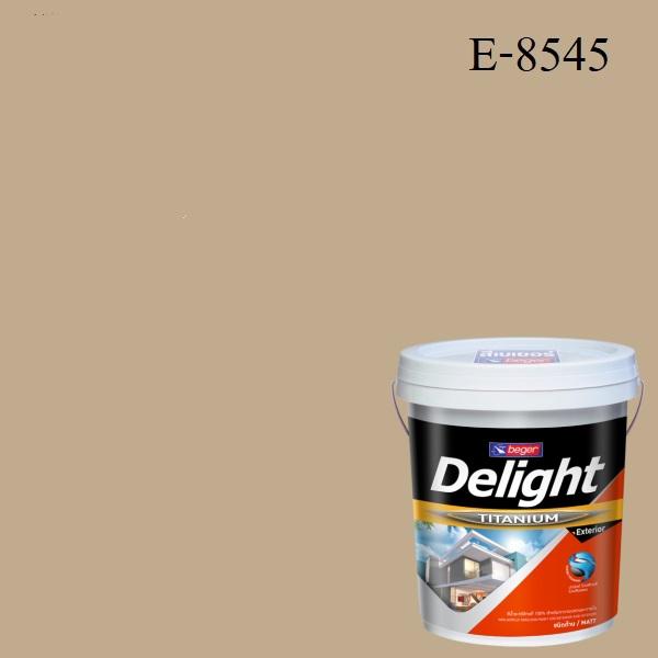 สีน้ำอะครีลิก ภายนอก E-8545 ดีไลท์ Brittany Beige