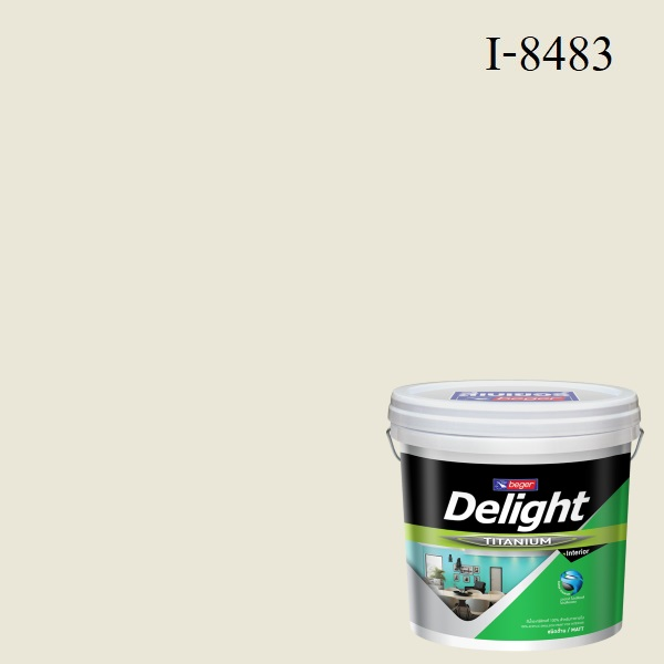 สีน้ำอะครีลิก ภายใน I-8483 ดีไลท์ Creamy Natural