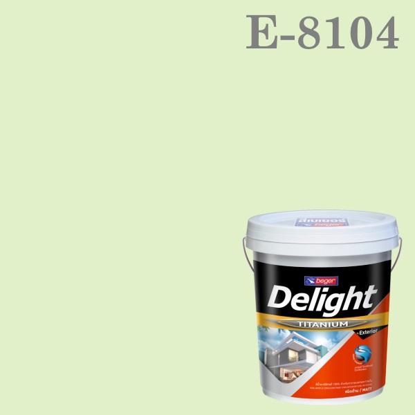 สีน้ำอะครีลิก ภายนอก E-8104 ดีไลท์ Honey Dew