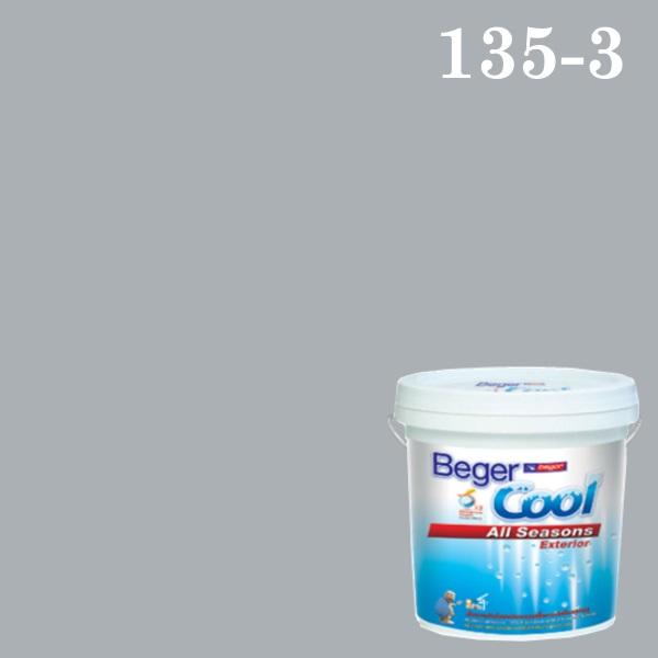 สีน้ำอะครีลิกภายนอก DC 135-3 Beger Cool All Seasons Mineral Mine