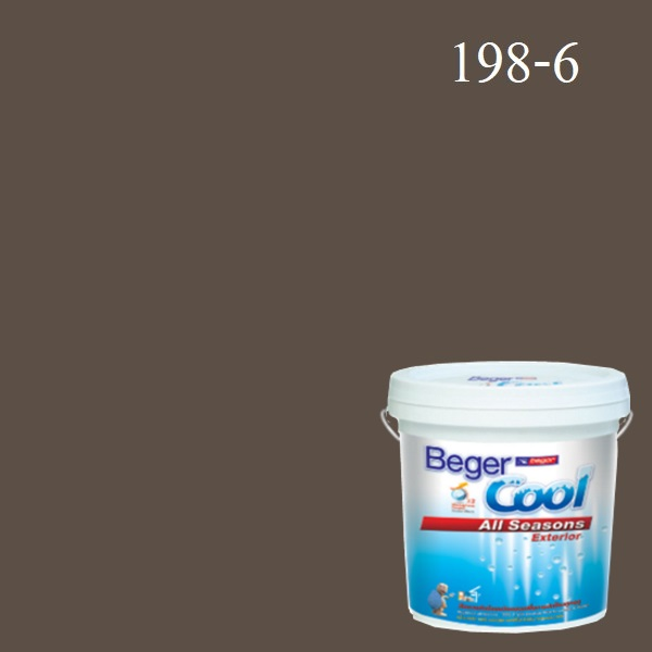 Beger Cool All Seasons สีน้ำอะครีลิก ภายนอก 198-6