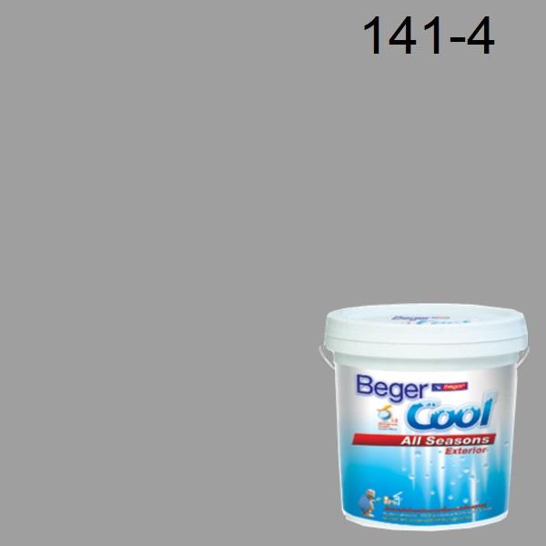 สีน้ำอะครีลิกภายนอก 141-4 Beger Cool All Seasons Shiney Nickel