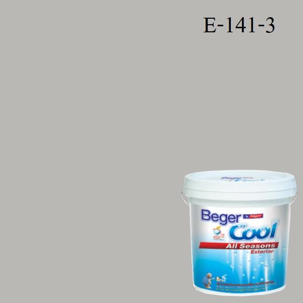 สีน้ำอะครีลิกภายนอก SSR E-141-3 Beger Cool All Seasons Splinter of Silver