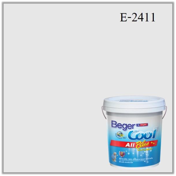 สีน้ำอะครีลิกภายนอก E-2411 Beger Cool All Plus Pastel Princess