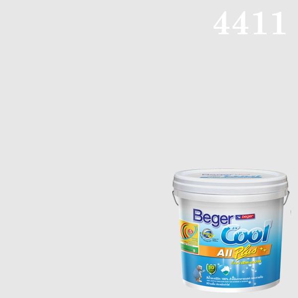 เบเยอร์คูล ออลพลัส กึ่งเงา สีน้ำอะครีลิกกึ่งเงา 4411 Pastel Princess