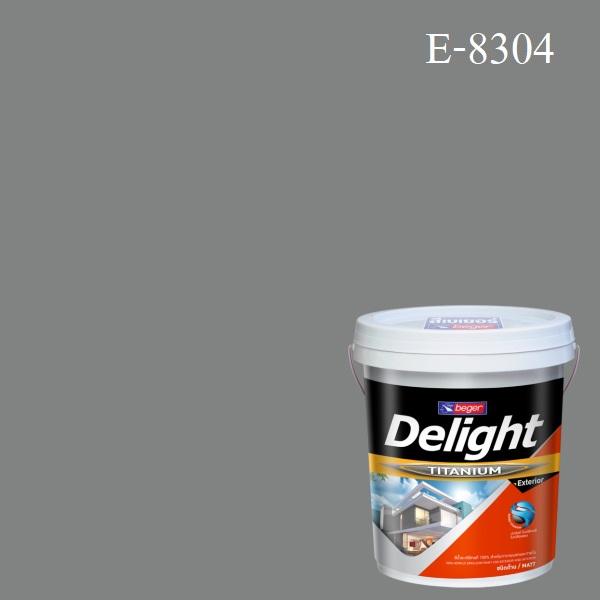 ดีไลท์ สีน้ำอะครีลิก ภายนอก E-8304 (Pink Parfait)
