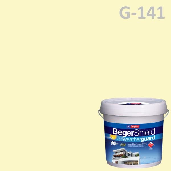 สีน้ำอะครีลิกกึ่งเงา G-141 เบเยอร์ชิลด์ Lily White