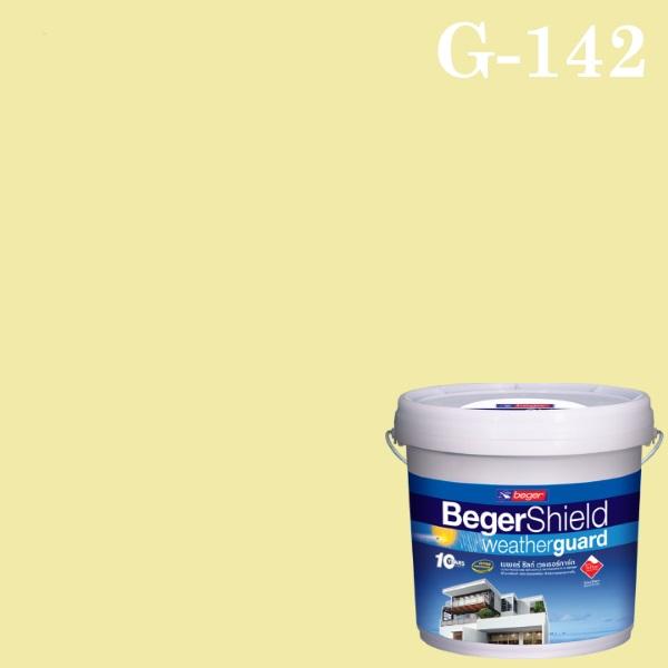 เบเยอร์ชิลด์ สีน้ำอะครีลิก กึ่งเงา G-142 Soft Vanilla