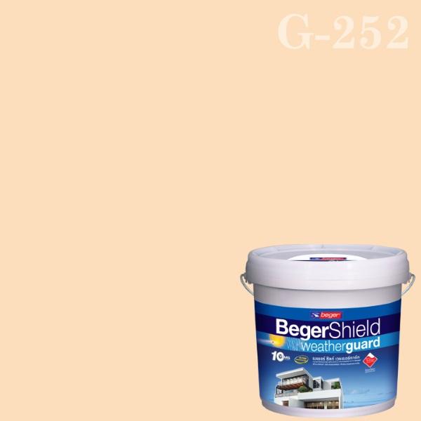 เบเยอร์ชิลด์สีน้ำอะครีลิก-กึ่งเงา G-252 Melon Sorbet