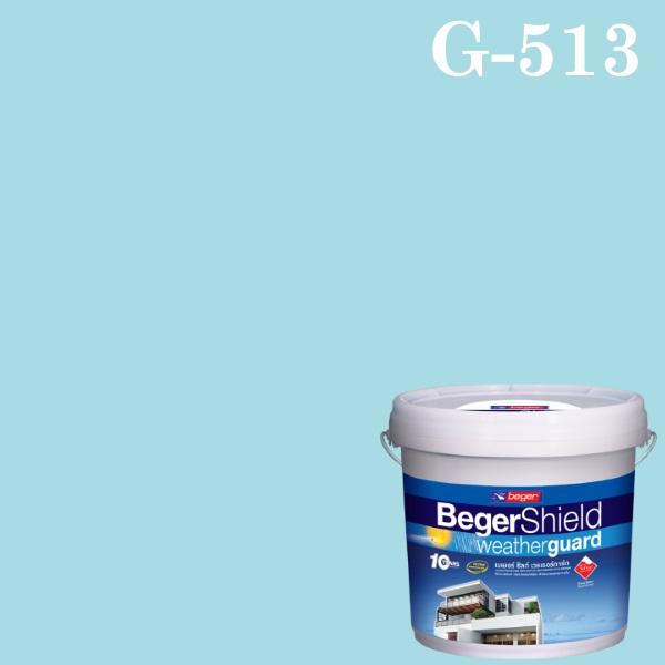 สีน้ำอะครีลิกกึ่งเงา G-513 เบเยอร์ชิลด์ Spa Spirit