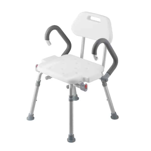 H101S เก้าอี้ห้องอาบน้ำปรับระดับ พับเก็บได้
