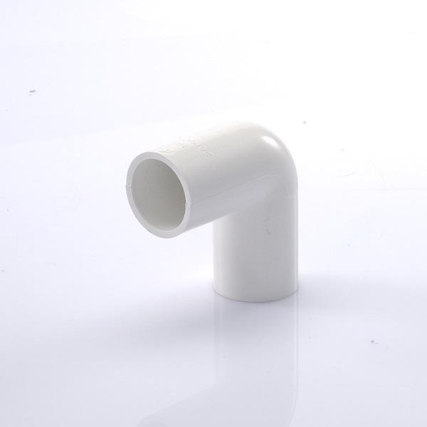 ข้อต่อข้องอ90 พีวีซี เอสซีจี ระบบร้อยสายไฟ สีขาว (มาตรฐาน JIS)