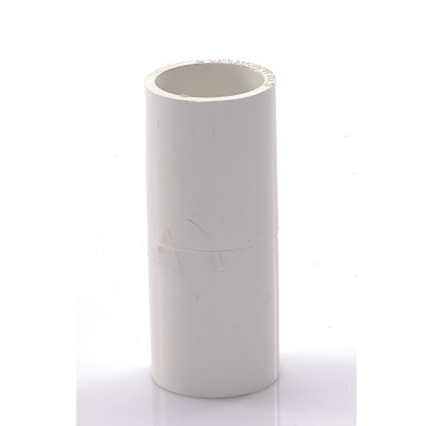 ข้อต่อตรง พีวีซี เอสซีจี ระบบร้อยสายไฟ สีขาว (มาตรฐาน JIS)