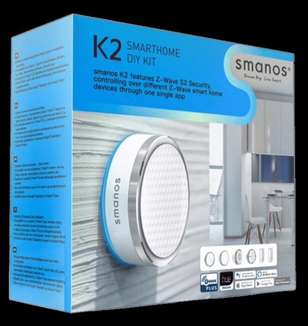 ชุดอุปกรณ์รักษาความปลอดภัยบ้านอัจริยะ Smanos K2 Smart Home KIT
