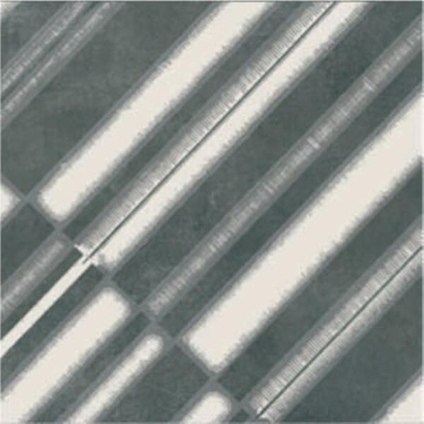 GT AZULEJ DIAGONAL NERO 8X8 PM