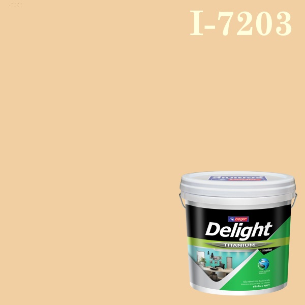 ดีไลท์ สีน้ำอะครีลิก ภายใน I-7203 Peach Poller