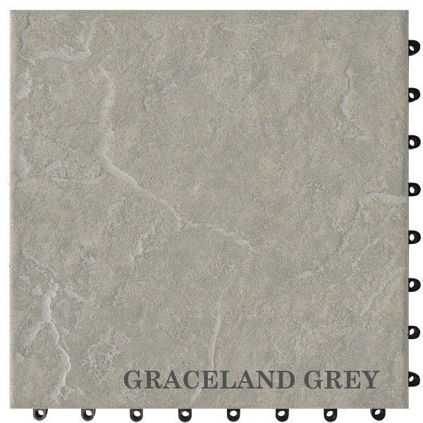 Cotto Quick GRACELAND GREY 30x30
