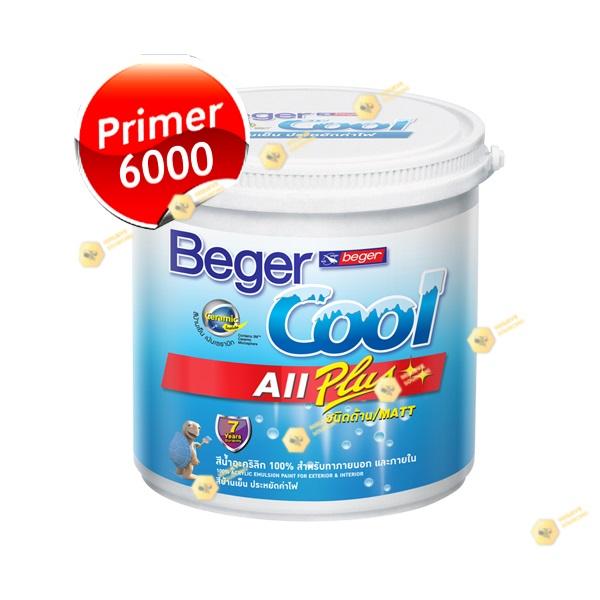 BegerCOOL AllPlus สีรองพื้นปูนใหม่ เบเยอร์ 6000-1GL