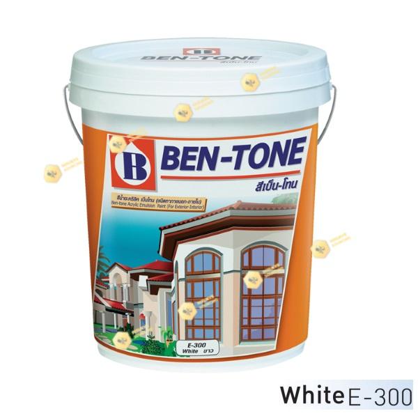 เบนโทน เบเยอร์ White E-300 สีน้ำอะคริลิกภายนอก-ใน