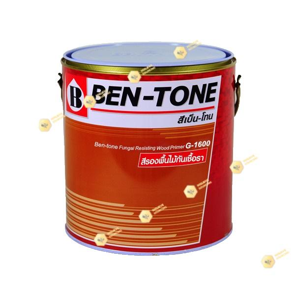 เบนโทน เบเยอร์ G-1600 สีรองพื้นไม้กันเชื้อราขาวด้าน 1gl