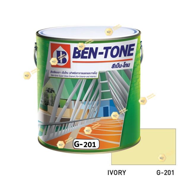 เบนโทน เบเยอร์ G-201 Ivory สีเคลือบเงา 1gl