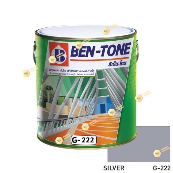 เบนโทน เบเยอร์ G-222 Silver สีเคลือบเงา 1gl