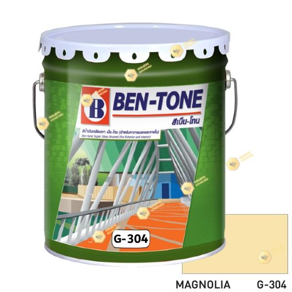 เบนโทน เบเยอร์ G-304 Magnolia สีเคลือบเงา 5gl