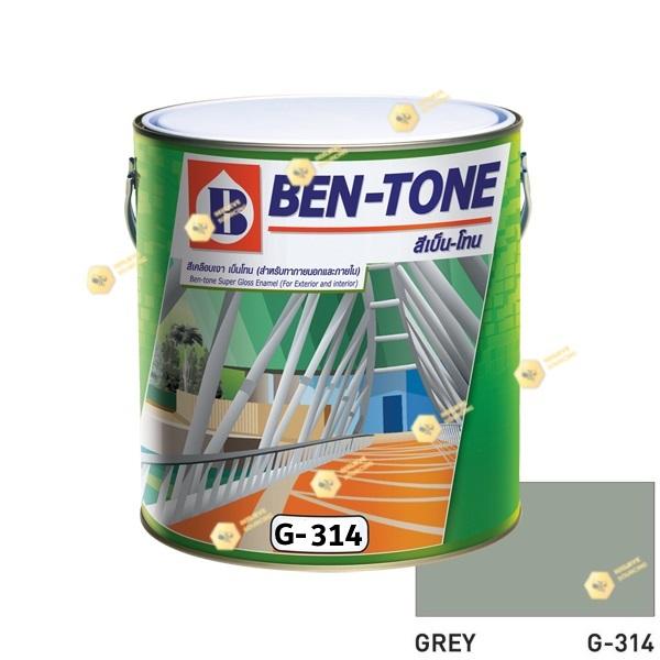 เบนโทน เบเยอร์ G-314 Grey สีเคลือบเงา 1gl