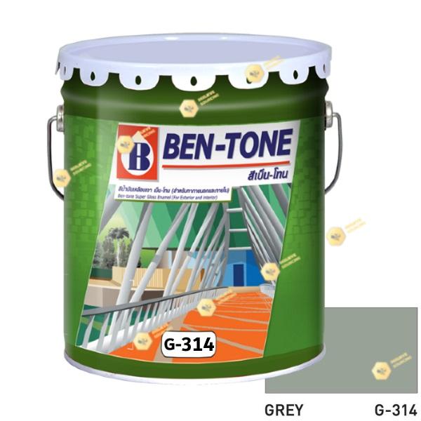 เบนโทน เบเยอร์ G-314 Grey สีเคลือบเงา 5gl