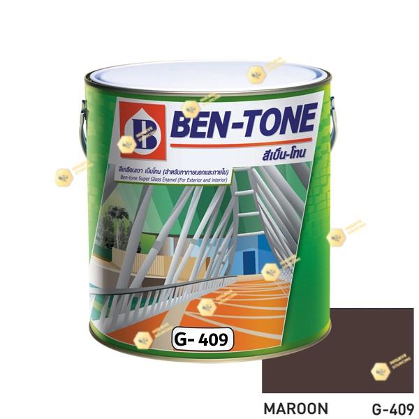 เบนโทน เบเยอร์ G-409 Maroon สีเคลือบเงา 1gl